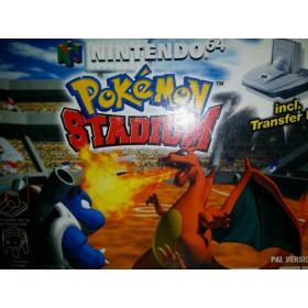 Pokémon Stadium en boite N64