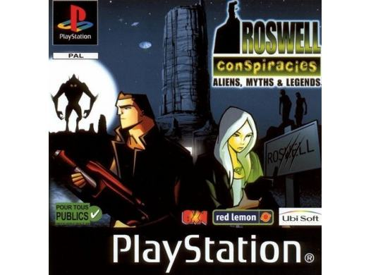 Roswell Conspiracies : Aliens, Myths & Legends (sous blister) PSX