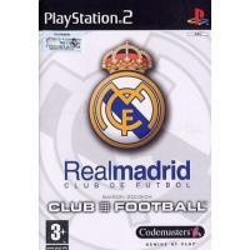 Real Madrid Club Football PS2