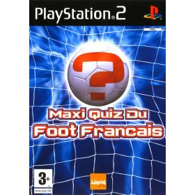 Maxi Quiz du Foot Francais PS2