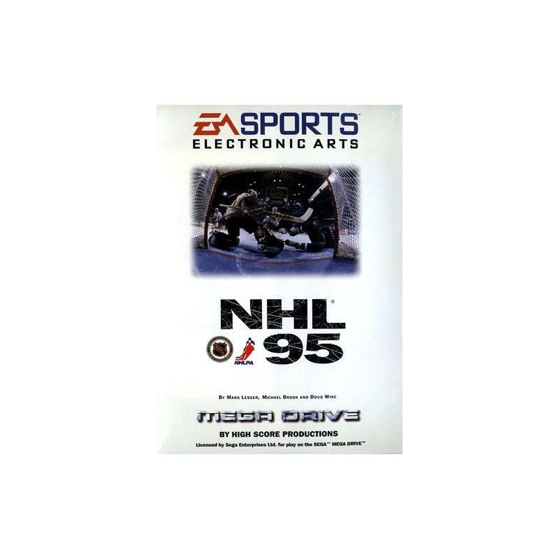NHL 95 en boîte MD