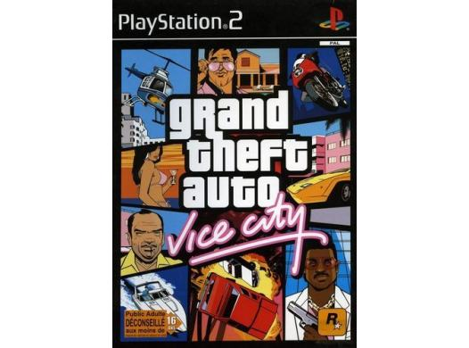 Grand Theft Auto : Vice City PS2