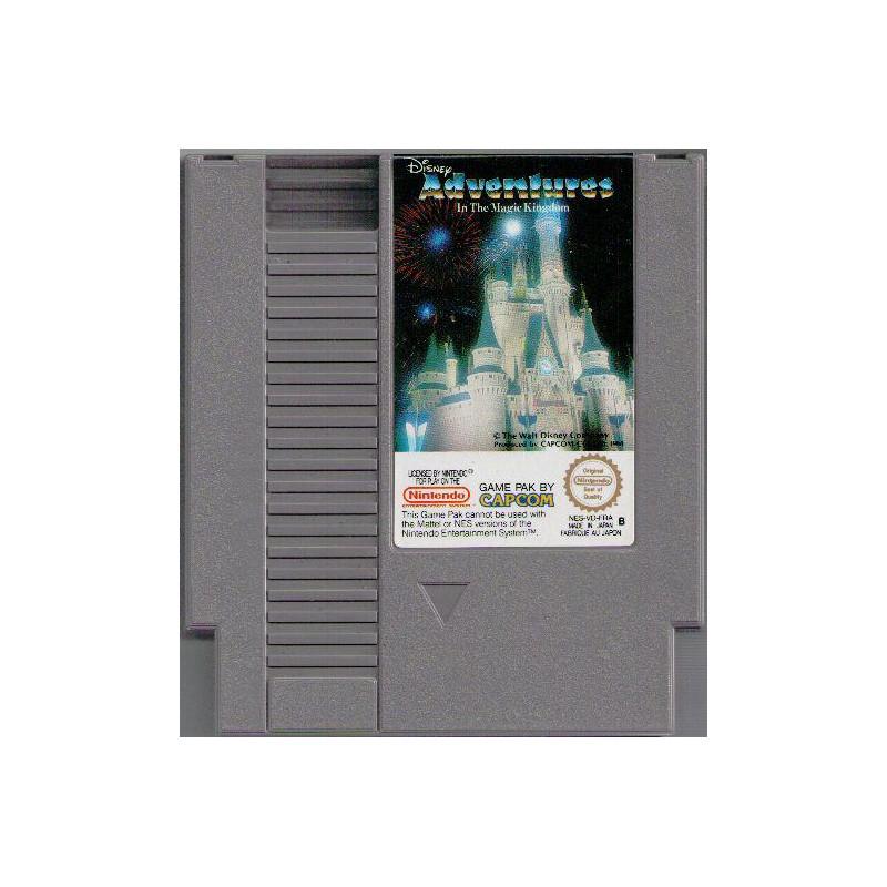 Adventures In The Magic Kingdom NES