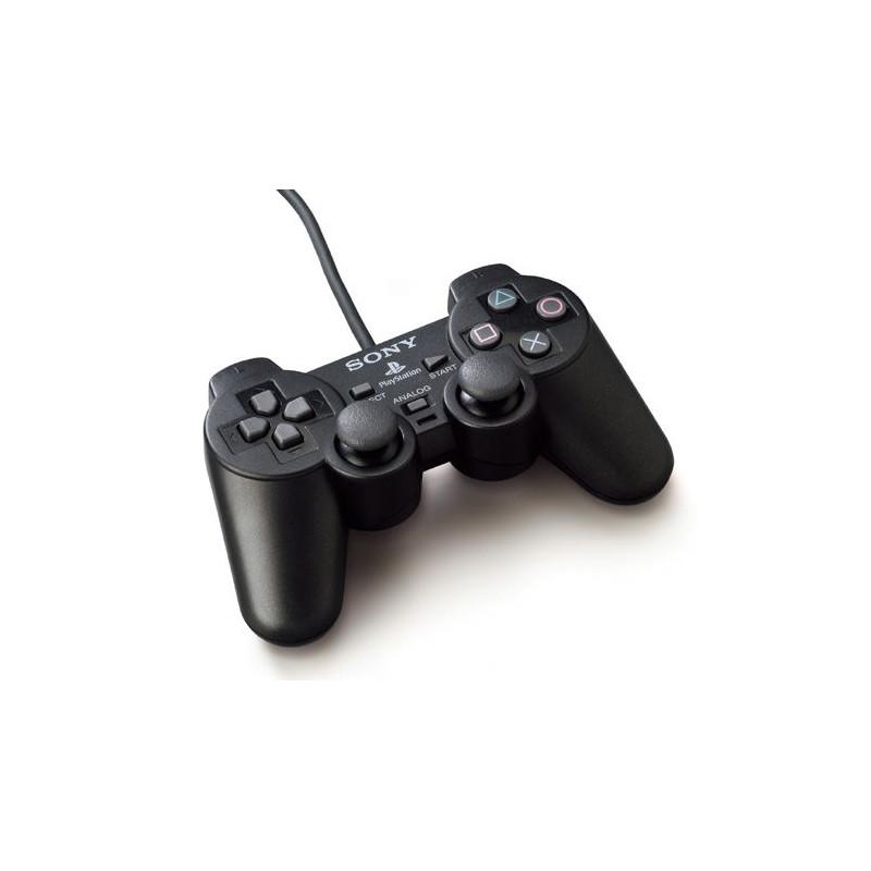Manette Dualshock 2 Noire PS2