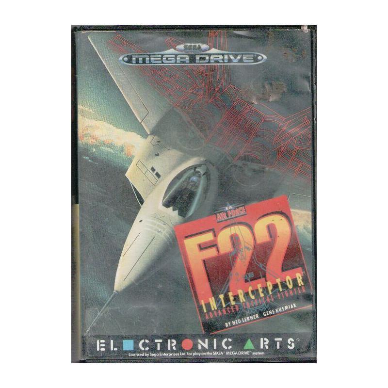 F 22 Interceptor en boîte MD