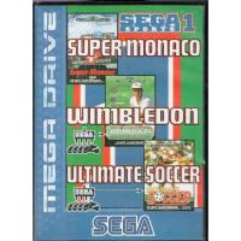Sega Sports 1 en boîte MD