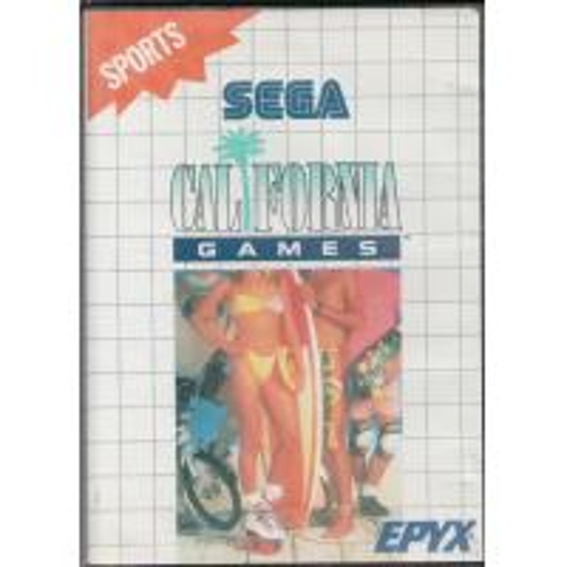 California Games en boîte MS