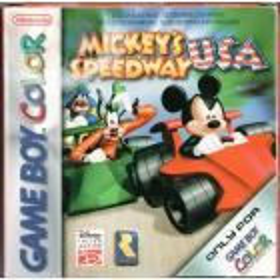 Mickey Speedway USA GBC