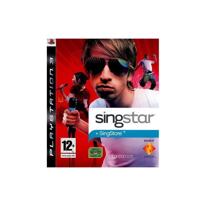 Singstar + 2 micro PS3