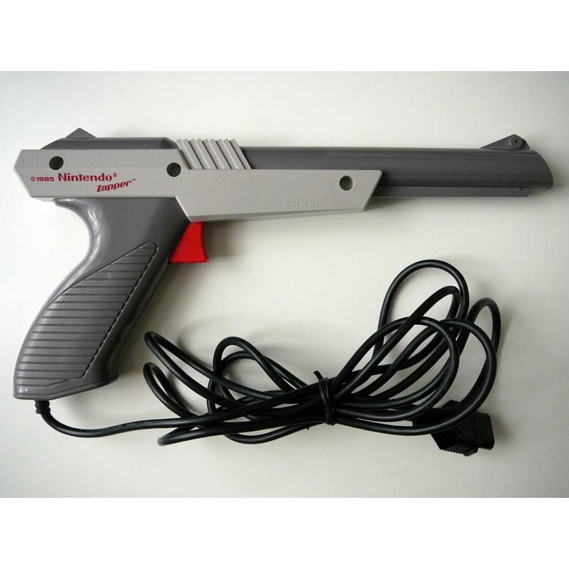 Pistolet Zapper (modele gris) Nintendo Nes