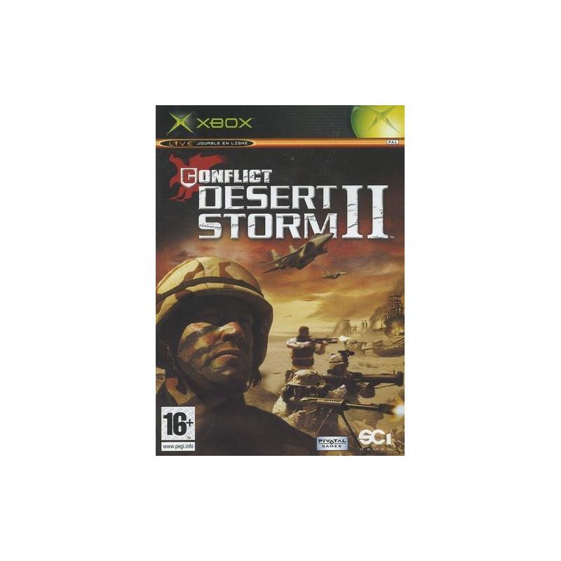 Conflict Desert Storm II Xbox