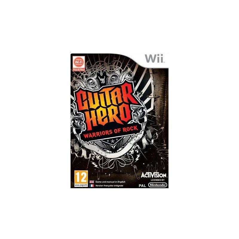 Guitar Hero : Warriors of Rock (sous blister) Wii