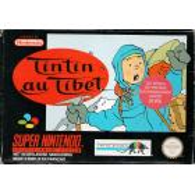 Tintin Au Tibet SNES