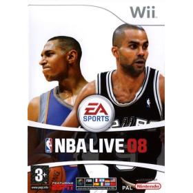NBA Live 08 Wii